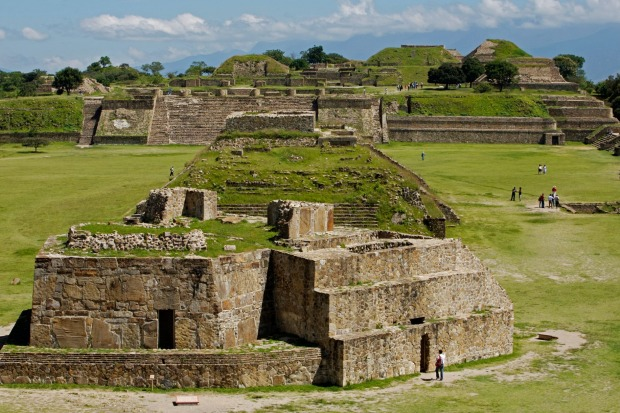 CLIMB RUINS  The region around Oaxaca was developed by two of the most advanced pre-Columbian civilisations – the ...