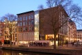 Anne Frank House and Museum on the Prinsengracht Canal in Amsterdam.