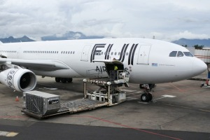 Fiji Airways will start serving meals to its business class passengers before they board.