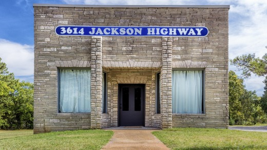 Sure, it looks humble, but Muscle Shoals Sound Studio is legendary.