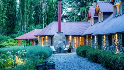 Tipiliuke Lodge has just just nine rooms, and encourages group interaction.
