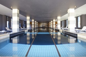 The pool at Mansion Hotel & Spa.
