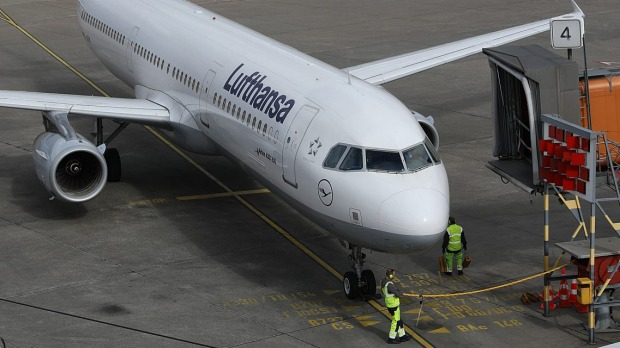 Milo the cat disappeared after a Lufthansa flight landed in Washington DC.