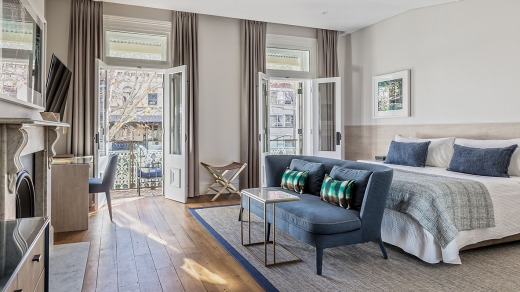 More like grand home than a hotel: Spicers Potts Point.