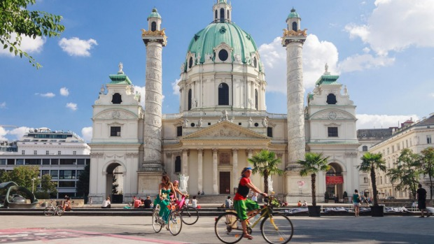 Vienna: The best city to live in for the tenth year running.