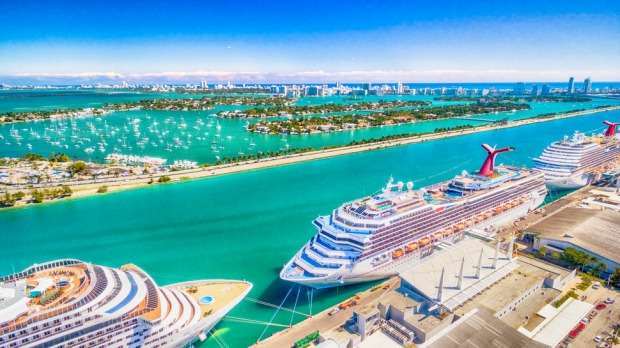 This is the world's busiest cruise port.