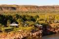 The luxury El Questro Homestead in the Kimberley.