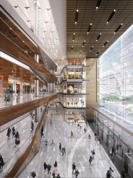 Inside The Shops and Restaurants at Hudson Yards.