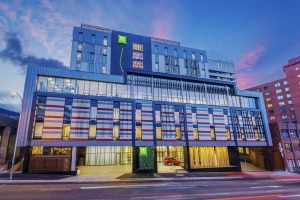 Ibis Styles Hobart is a vibrant presence on Macquarie Street.