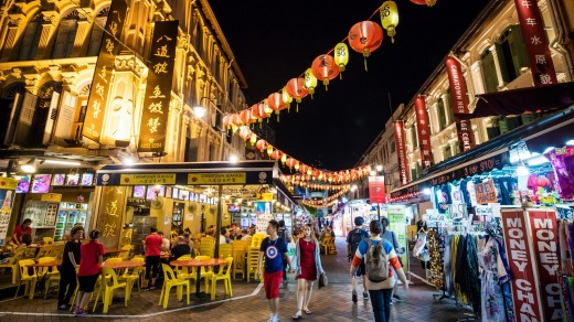 Chinatown district in Singapore is a great source of Chinese-made products, as well as electrical goods, textiles, ...