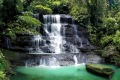 Is this really Jakarta? A waterfall in Bogor Botanic Gardens.