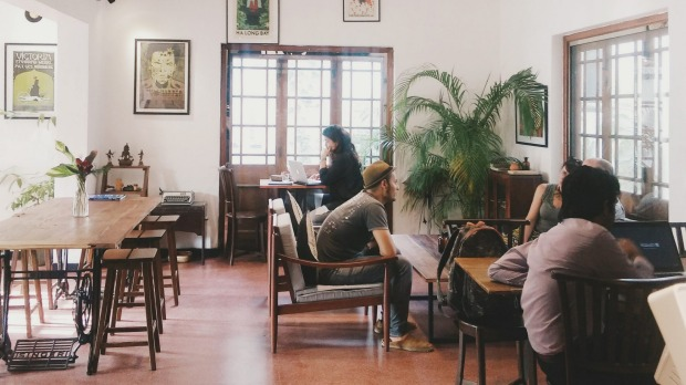 BLACK CAT. This hip cafe occupies the ground floor of a 1920s-era mansion in upmarket Cinnamon Gardens, the ...