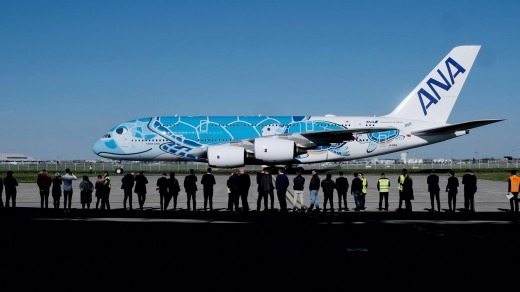 All three ANA A380s will fly the Tokyo-Honolulu route.