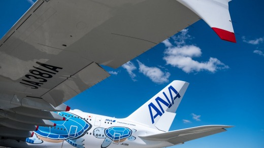 ANA has three A380s ordered.