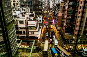 Sham Shui Po was notorious for its gambling, drugs and prostitution.