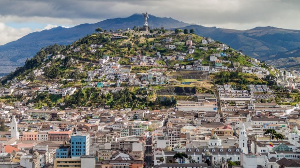 "For a great overview of the sprawling town and surrounding volcanoes, head to El Panecillo (the ""Little Bread Loaf"", at ..."