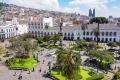 """Plaza de la Independencia, also known as La Plaza Grande, Quito's """"living room"""" is a great place to people-watch."""