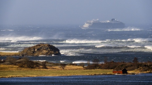 Viking Sky suffered an engine failure off the coast of Norway recently.