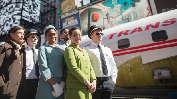 The vintage commercial airplane will serve as the cocktail lounge outside the TWA Hotel at JFK airport.