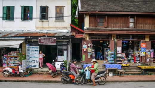 Soak up the colour, sights and sounds of Luang Prabang.