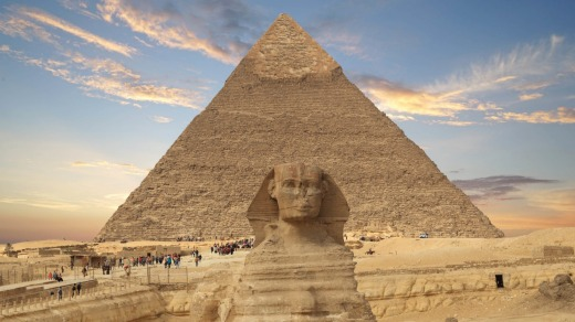 The many wonders of Giza, Cairo, include the thrill of exploring a structure built more than 4000 years ago.