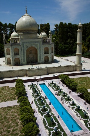 Tobu World Square Taj Mahal Replica.