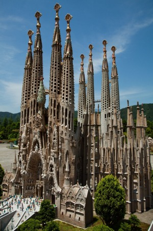 Sagrada Familia Replica.
