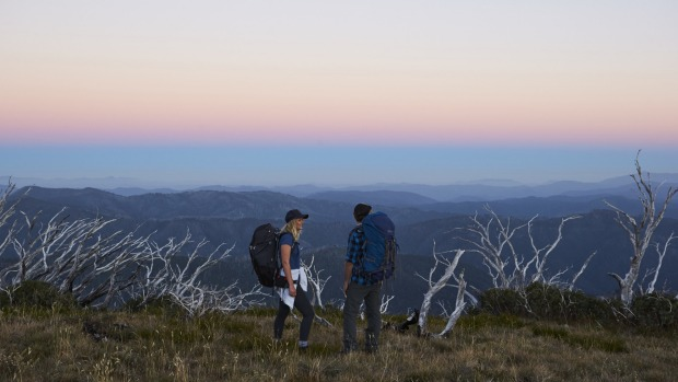 An appetite-inducing hike on Razorback Ridge in the Victorian high country.