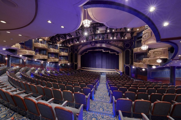 The 800-seat Royal Court Theatre.