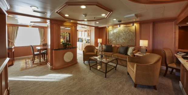 A suite for Queen's Grill level passengers.