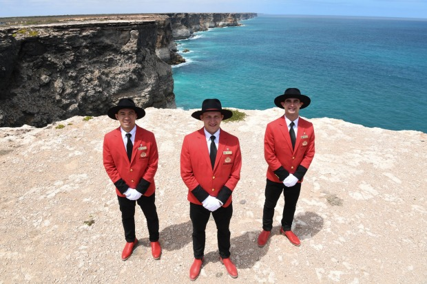 There have been a few tweaks made for the Australian market, with the ship's famous bell boys are now fitted out in ...