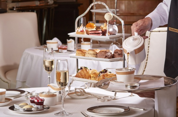 High Tea is one of the must-do experiences on board.
