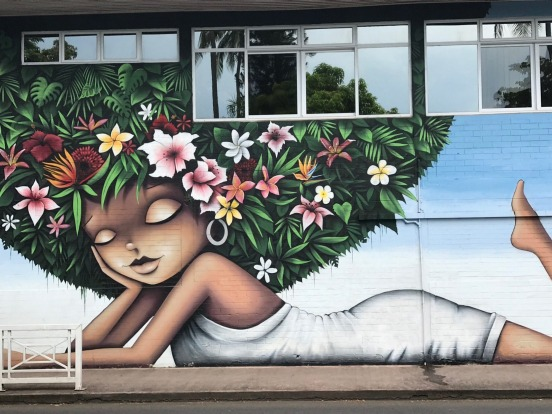 SAVOUR PAPEETE STREET ART  It's hard to believe a paradise like French Polynesia would need some polishing but Papeete, ...