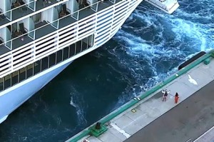 Two cruise ship passengers were left behind in the Bahamas in February.