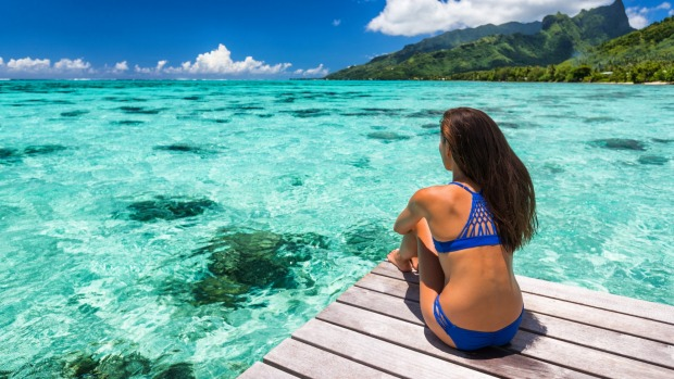 French Polynesia is one of the most romantic destinations on Earth. As such, it's not great to visit on your own.