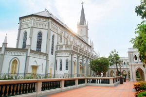 CHIJMES (Convent of the Holy Infant Jesus Middle Education School) started when a single building, Caldwell House, was ...