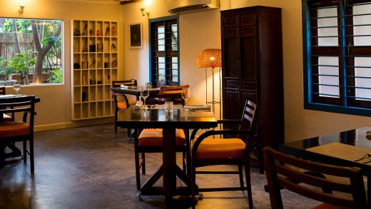 Housed in a traditional wooden Cambodian building set well away from the Siem Reap tourist strip, the restaurant ...