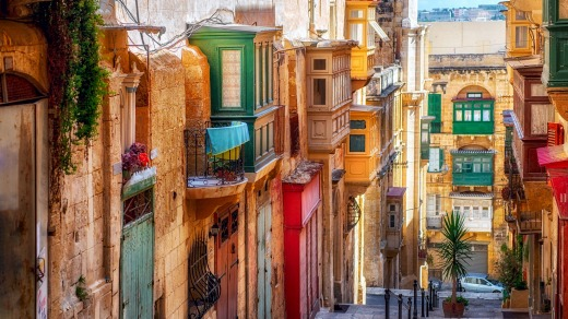 To walk its narrow lanes now, to see its busy restaurants and bustling bars, Valetta feels both modern and ancient.