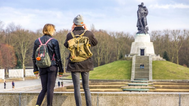 Sites such as Treptower Park provide a glimpse into Berlin's anguished soul.