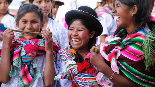 A festival in Sucre to celebrate the Virgin of Guadalupe.