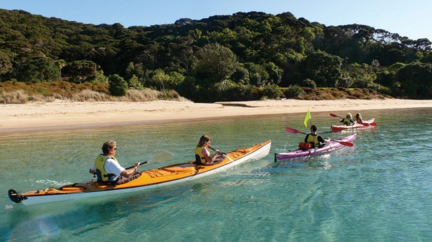 The most exciting part of the Bay of Islands is only accessible by sea.