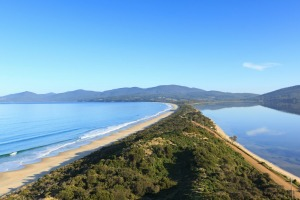 Though it's just a short boat ride away from Hobart, Bruny Island is one of Australia's most pristine islands.