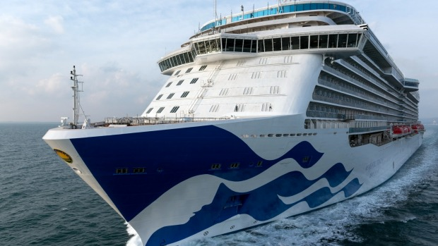 Majestic Princess was due to sail from Sydney to New Zealand on November 5.