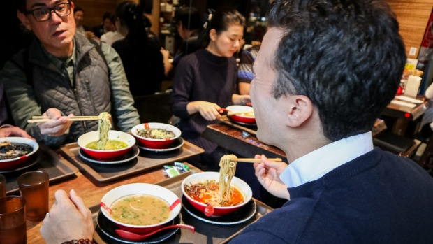 As the author of one of Tokyo's leading ramen blogs, Frank Striegl is ideally qualified to lead this immersive tasting ...