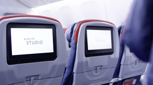 Delta Airlines upgraded Boeing 777, Main Cabin economy, Sydney to Los Angeles.
