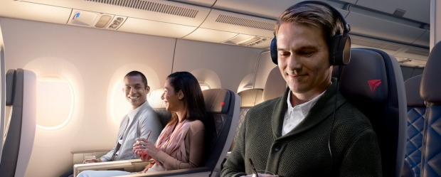 Despite a few teething problems (namely, design issues with the seats), Delta's new Premium Select has raised the bar ...
