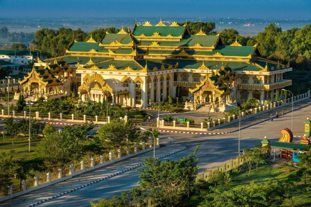Naypyidaw, Burma: It's one thing making a white elephant building, but quite another to make a white elephant city.