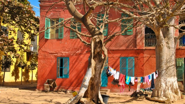 Gorée Island was once the largest slave-trading centre on the African coast.