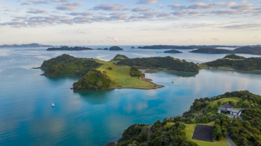 New Zealand's Bay of Islands.