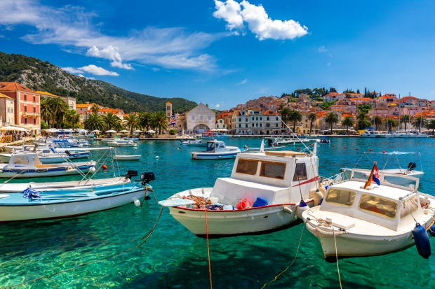 HVAR, CROATIA  Along the southern Croatian coast, cruise ships abandon the mainland and navigate lavender-scented ...